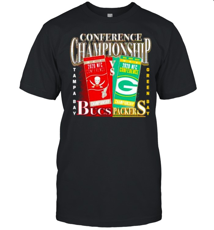 Green Bay Packers vs Tampa Bay Buccaneers 2020 NFC Conference Championship Matchup shirt