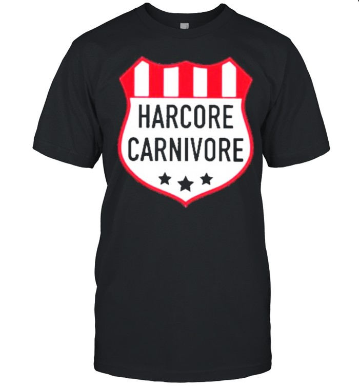 Hardcore carnivore shield shirt Classic Men's T-shirt