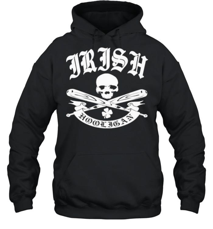 Irish hooligan shirt Unisex Hoodie