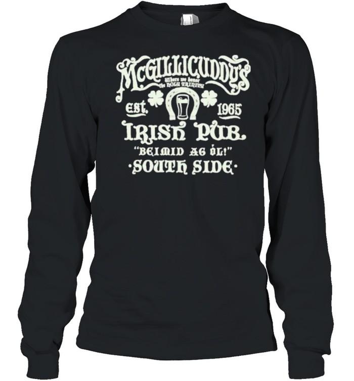 Irish pub shirt Long Sleeved T-shirt