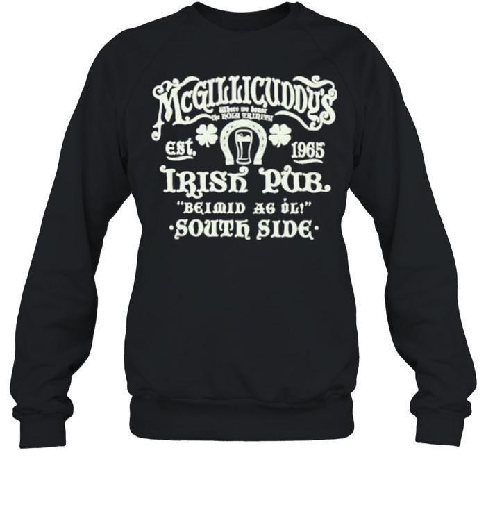 Irish pub shirt Unisex Sweatshirt