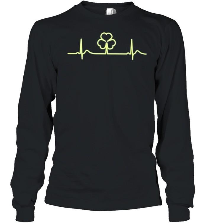 Irish shamrock shirt Long Sleeved T-shirt