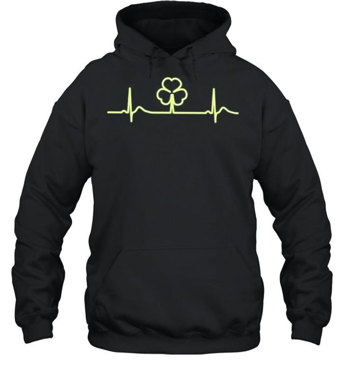 Irish shamrock shirt Unisex Hoodie