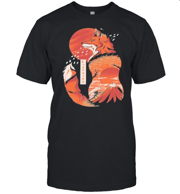 Japanese fox shirt Classic Men's T-shirt