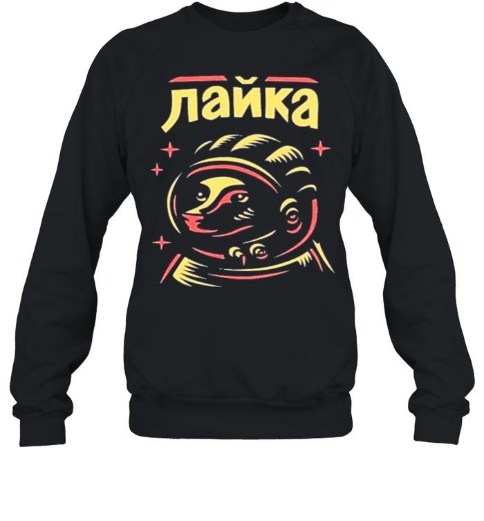 Laika shirt Unisex Sweatshirt