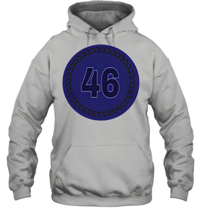 46 Baseball shirt Unisex Hoodie