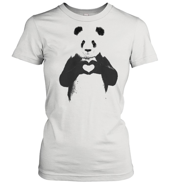 Love Panda shirt Classic Women's T-shirt
