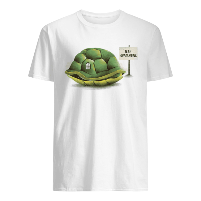 Stay Home Green Turtle shirt Classic Men's