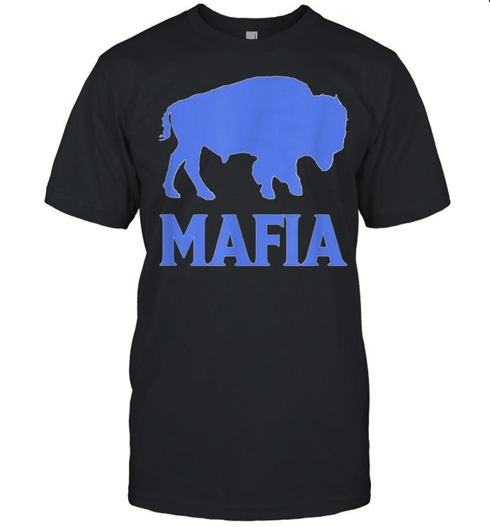 Vintage Retro Bill Fan Mafia Buffalo Sports Gits Football shirt Classic Men's T-shirt