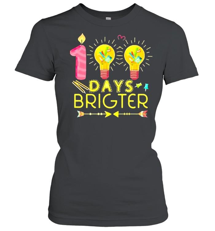 100 days brighter shirt Classic Women's T-shirt