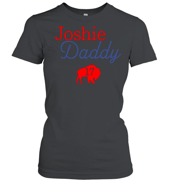 17 Allen Joshie Daddy Buffalo Bills 2021 shirt Classic Women's T-shirt