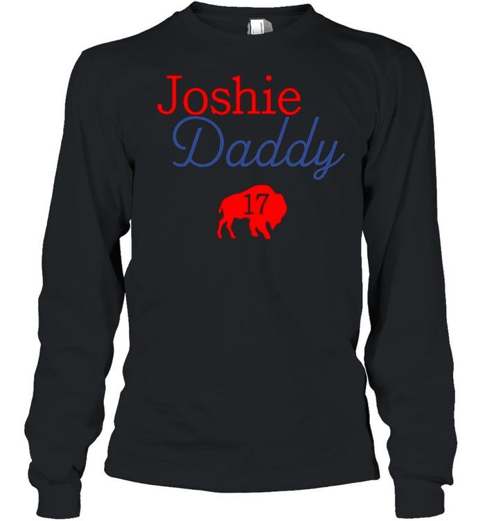 17 Allen Joshie Daddy Buffalo Bills 2021 shirt Long Sleeved T-shirt
