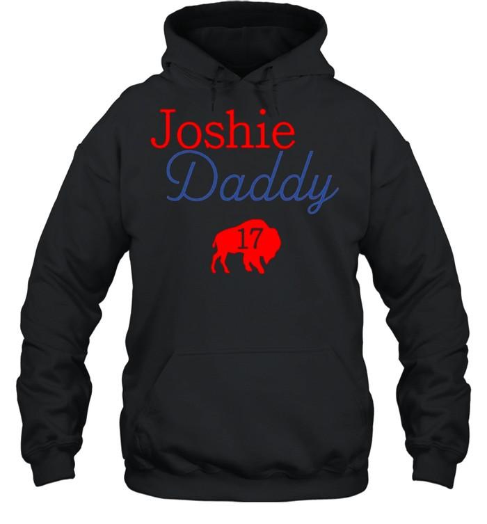 17 Allen Joshie Daddy Buffalo Bills 2021 shirt Unisex Hoodie