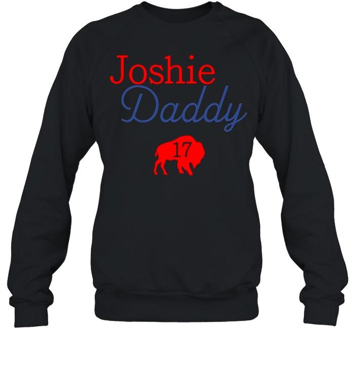 17 Allen Joshie Daddy Buffalo Bills 2021 shirt Unisex Sweatshirt