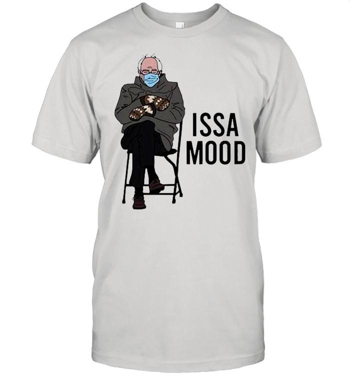 Issa Mood Funny Bernie Sanders Mittens Meme shirt Classic Men's T-shirt