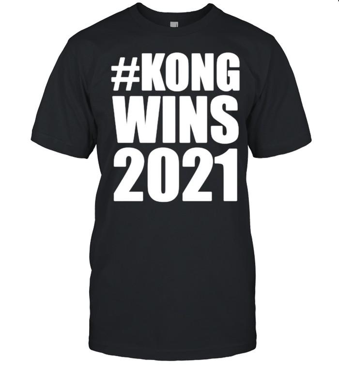 Kong wins 2021 shirt