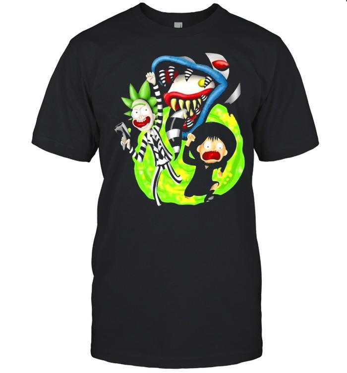 Rick Sanchez Morty Beetlejuice Cartoon shirt