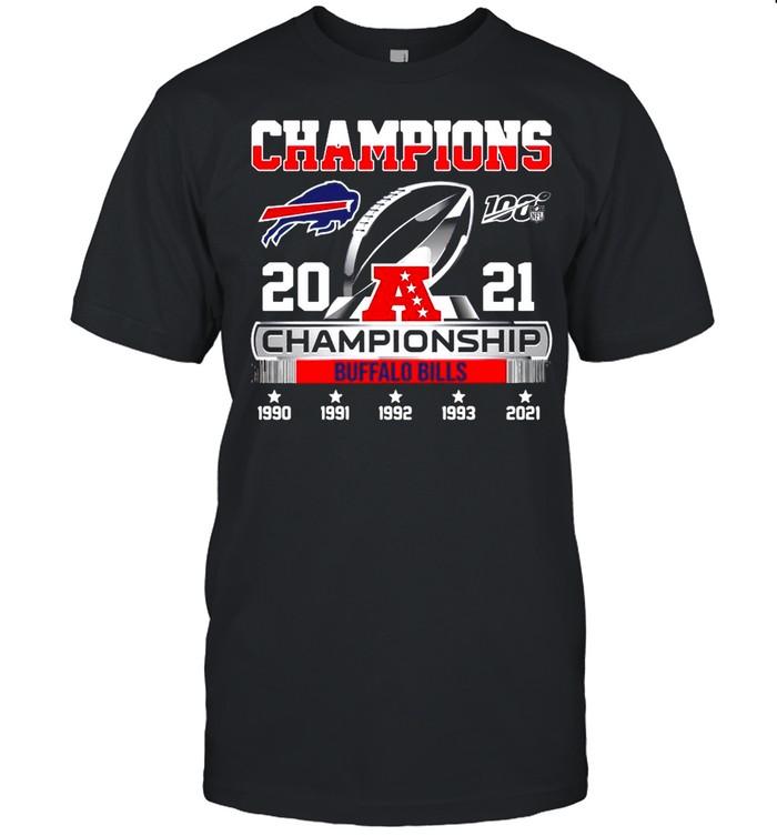 The Champions 2021 Afc Championship With Buffalo Bills shirt Classic Men's T-shirt