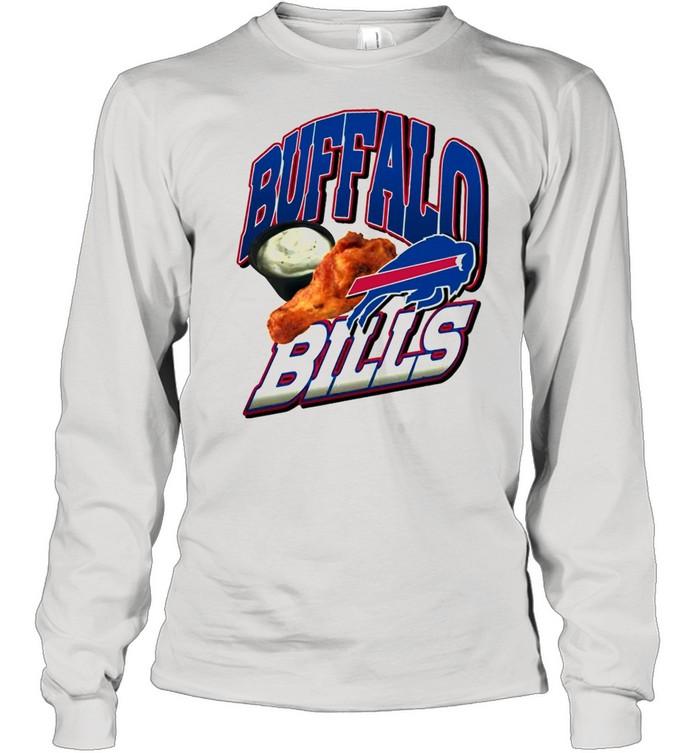 2021 Chicken Thighs Buffalo Bills shirt Long Sleeved T-shirt