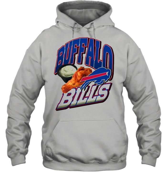 2021 Chicken Thighs Buffalo Bills shirt Unisex Hoodie