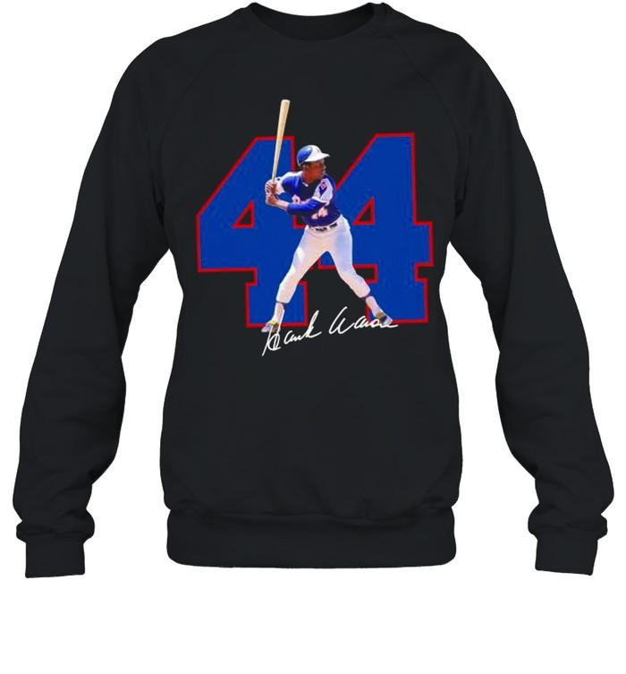 44 Hank Aaron signature 2021 shirt Unisex Sweatshirt