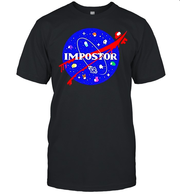 Among us impostor nasa shirt Classic Men's T-shirt