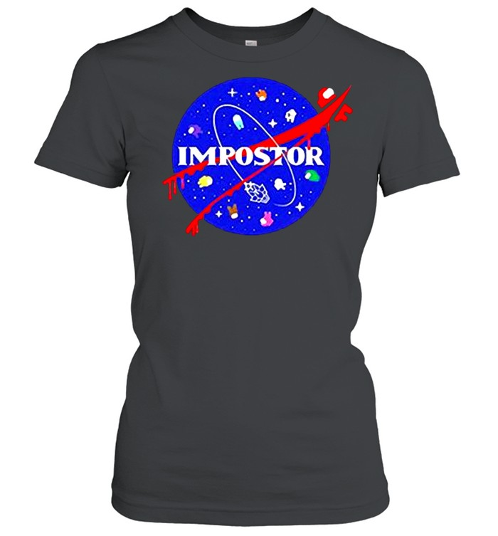 Among us impostor nasa shirt Classic Women's T-shirt