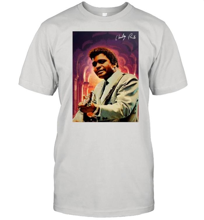 Charley Pride signature tshirt