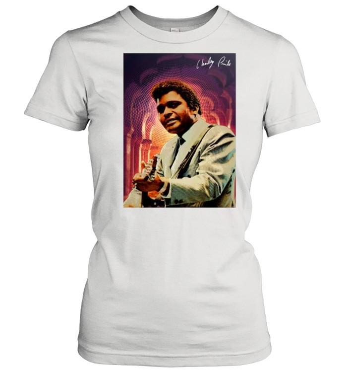 Charley Pride signature tshirt Classic Women's T-shirt