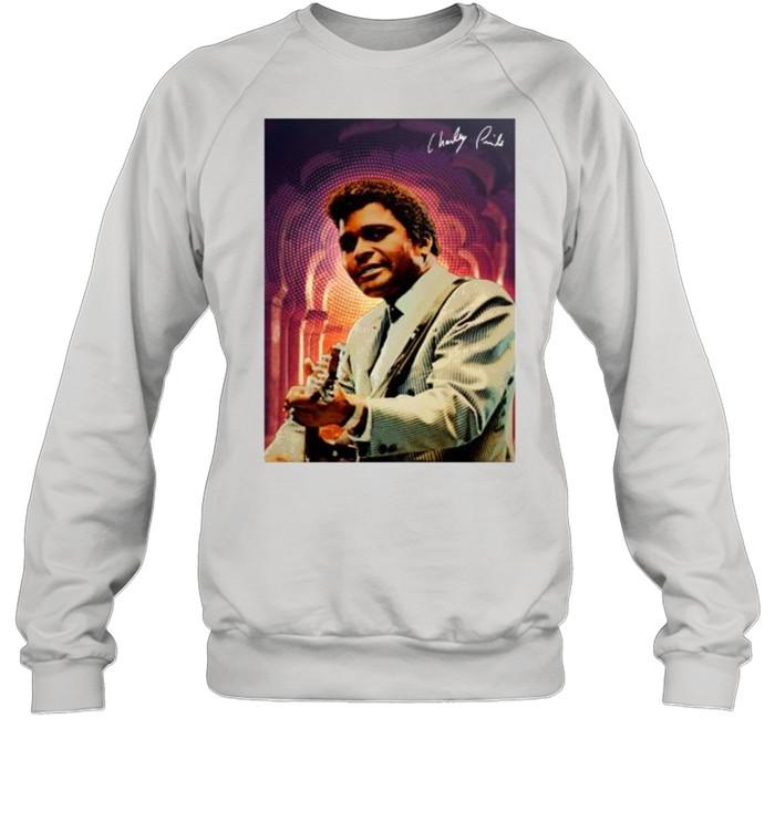 Charley Pride signature tshirt Unisex Sweatshirt
