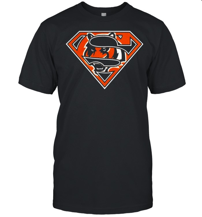Cincinnati Bengals Raiders Superman 2021 shirt