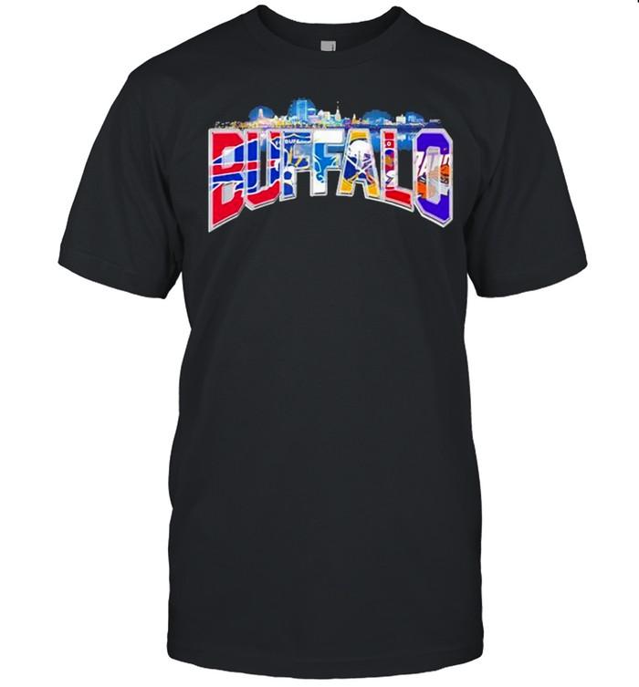 City Team Football Buffalo Bills shirt Classic Men's T-shirt
