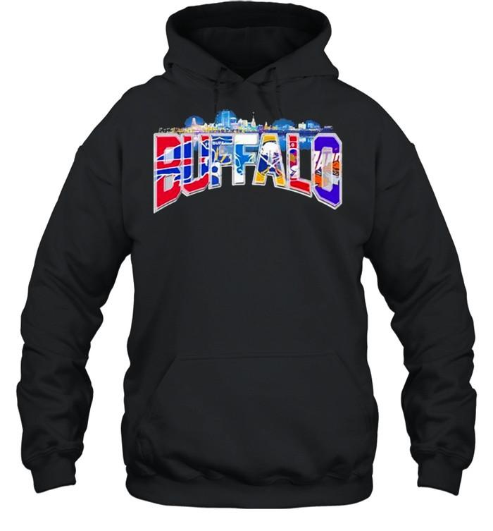 City Team Football Buffalo Bills shirt Unisex Hoodie
