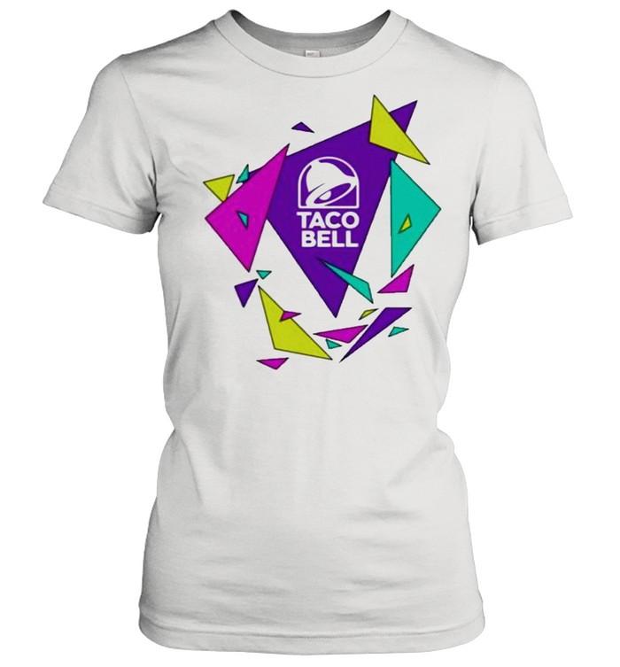 Gavin dempsey taco bell geometric logo shirt Classic Women's T-shirt