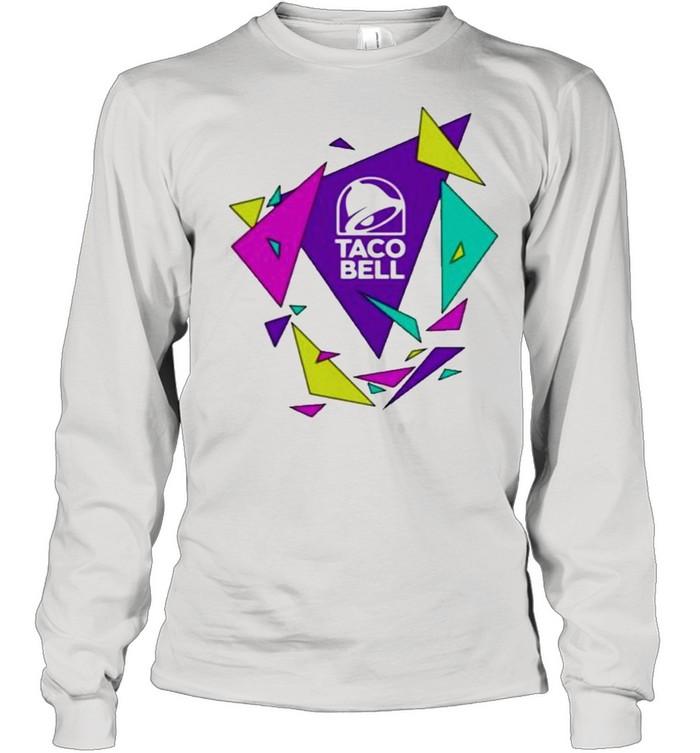 Gavin dempsey taco bell geometric logo shirt Long Sleeved T-shirt
