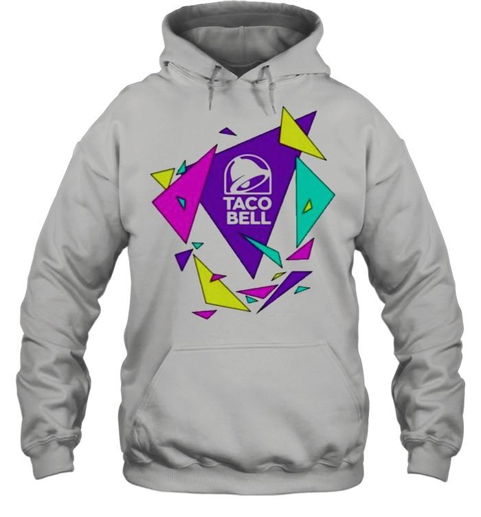 Gavin dempsey taco bell geometric logo shirt Unisex Hoodie