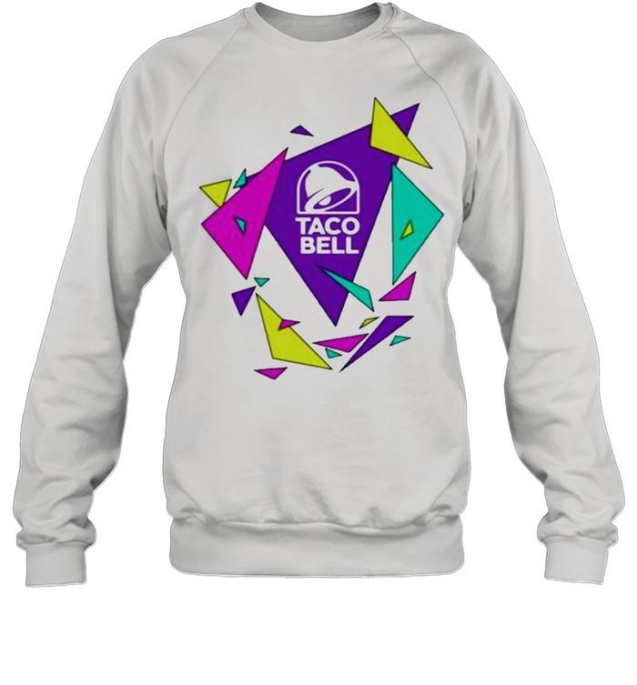Gavin dempsey taco bell geometric logo shirt Unisex Sweatshirt