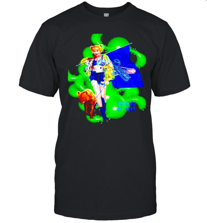 Harley Quinn Los Angeles Dodgers shirt
