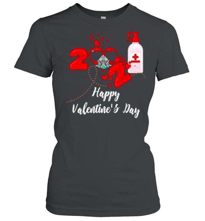 2021 Covid19 Happy Valentines Day shirt Classic Women's T-shirt