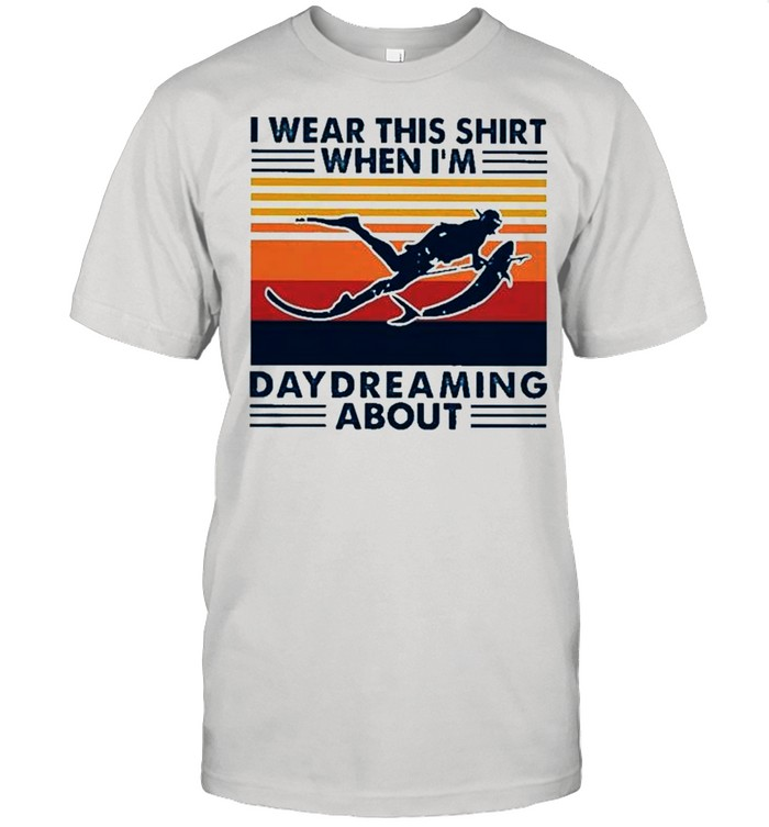 I wear this when Im daydreaming about vintage shirt