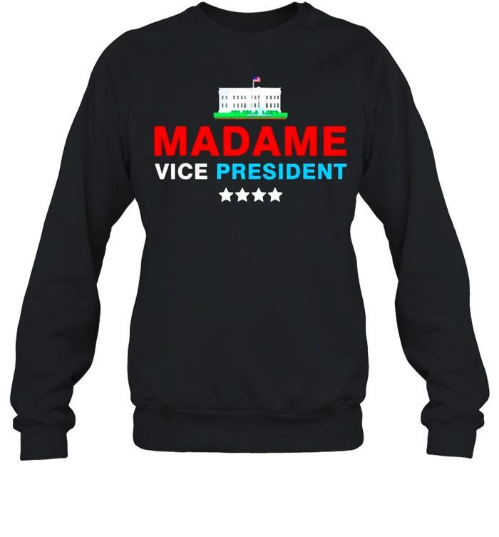 Madame Vice President 2021 shirt Unisex Sweatshirt