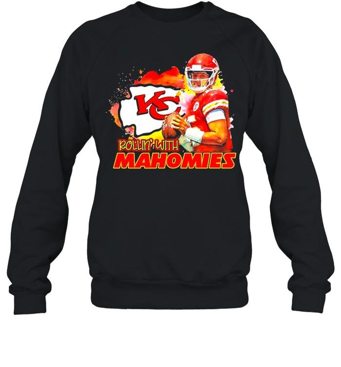 Rollin with Mahomies Kansas City shirt Unisex Sweatshirt