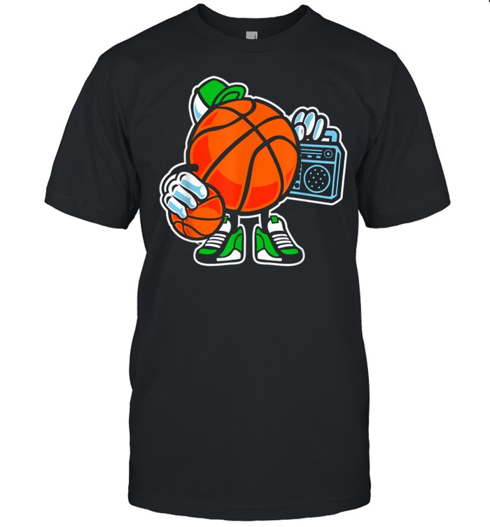 Street basketball love sports action shirt