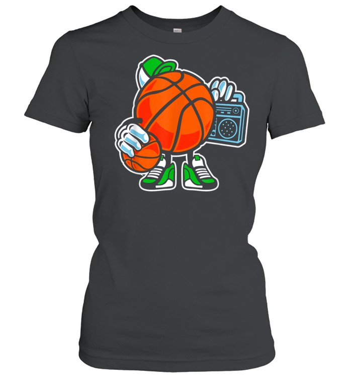 Street basketball love sports action shirt Classic Women's T-shirt