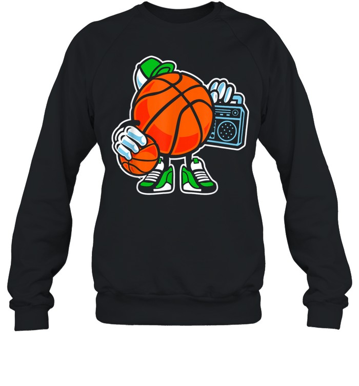 Street basketball love sports action shirt Unisex Sweatshirt