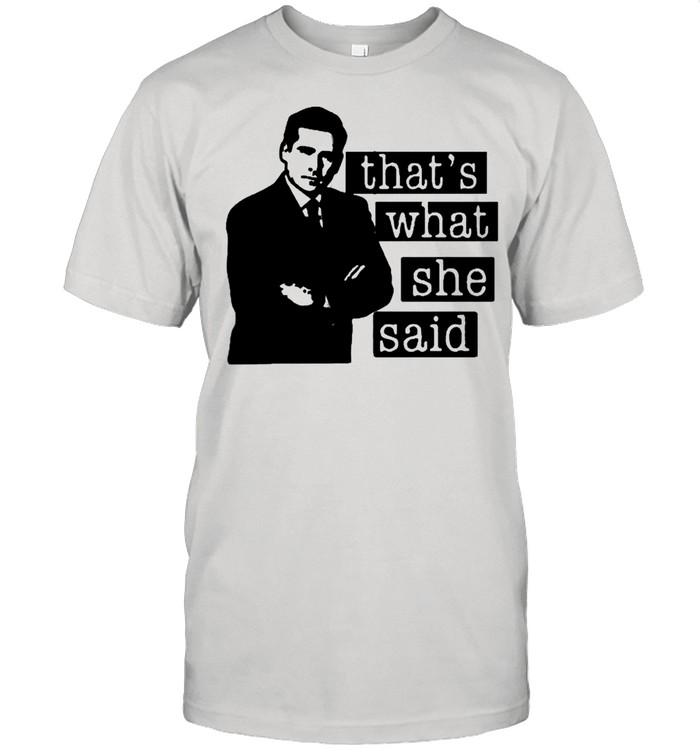 Thats what she said 2021 shirt