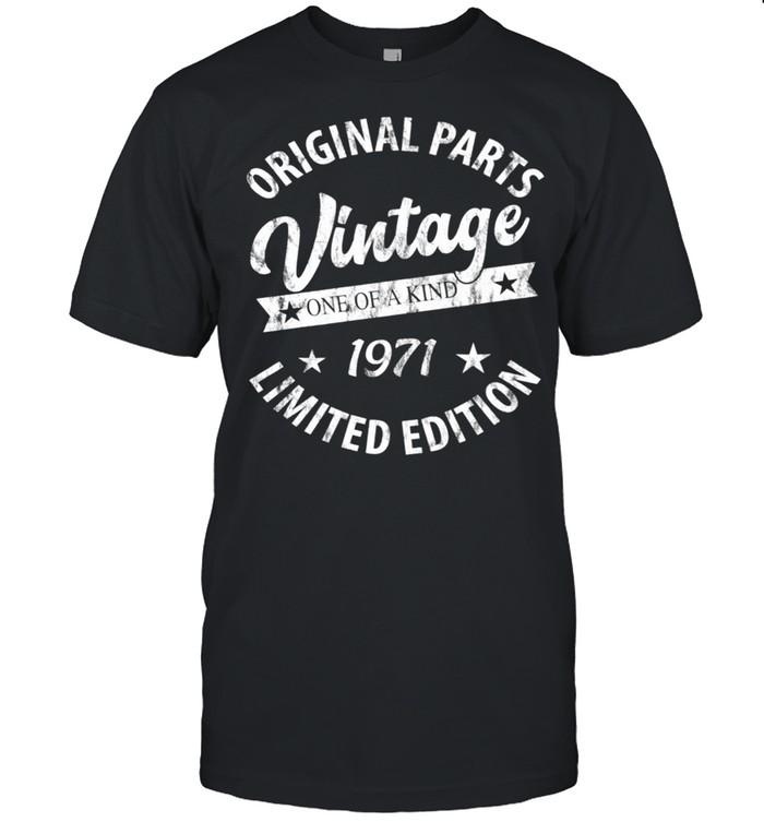 Vintage Born in 1971 shirt