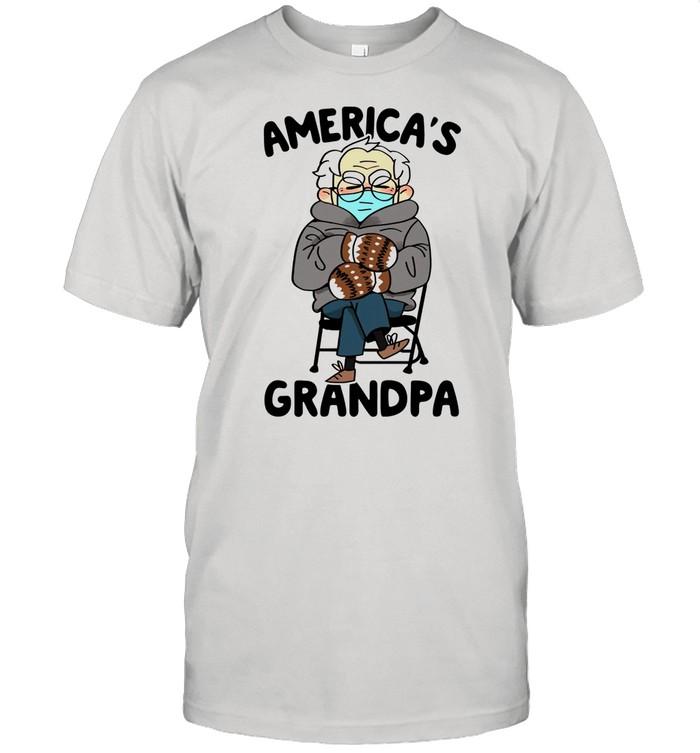 Bernie Sanders Americas Grandpa shirt