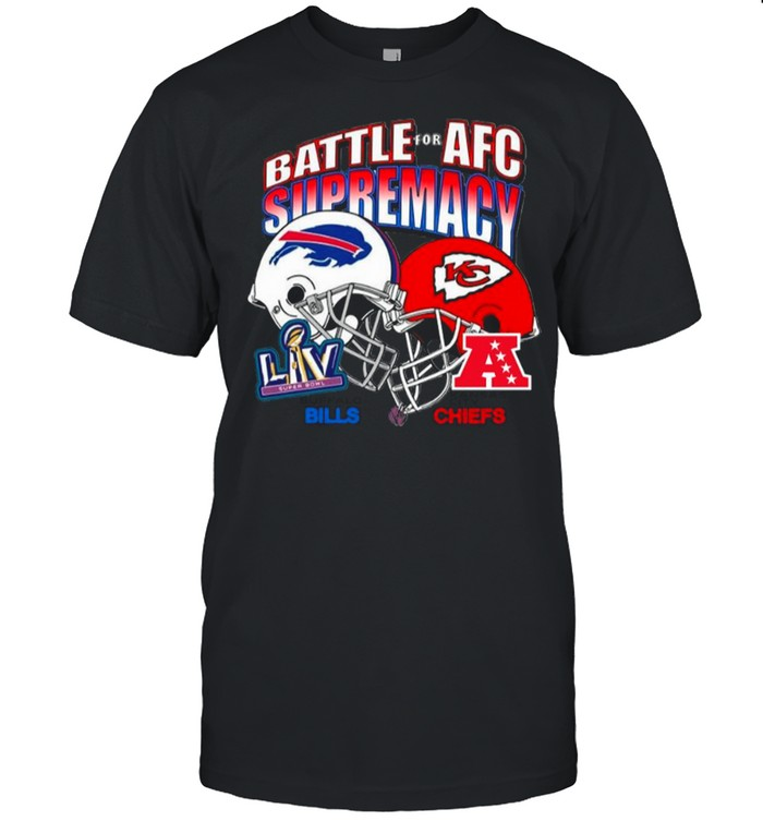 Bills Vs Chiefs Battle For Adc Supremacy 2021 shirt