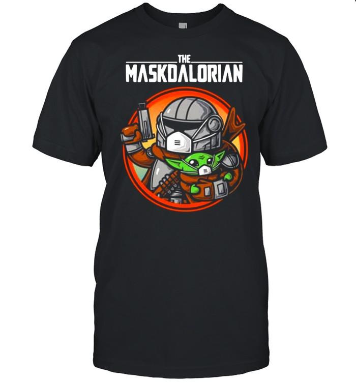 The Maskdalorian With Star Wars Baby Yoda 2021 shirt